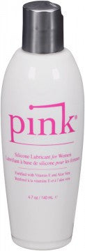 Pink Silicone Lubricant for Women - 4.7 Oz / 140 Ml
