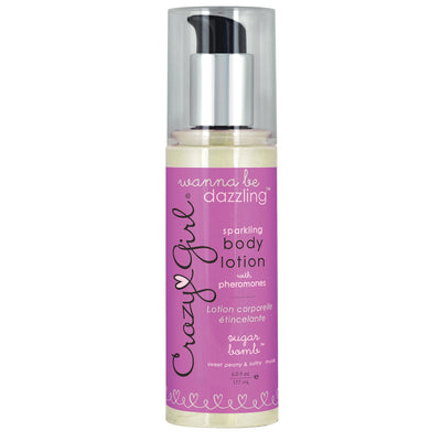 Crazy Girl Wanna Be Dazzling Sparkling Body Lotion With Pheromones - Sugar Bomb - 6 Fl. Oz. / 177 Ml CE7002-06