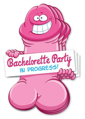 Bachelorette Pecker Wall Decorations - 3 Pack OZ-BPB-03