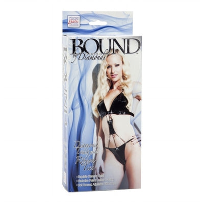 Bound by Diamonds - Diamond Teddy With Ribbon Ties SE2657753