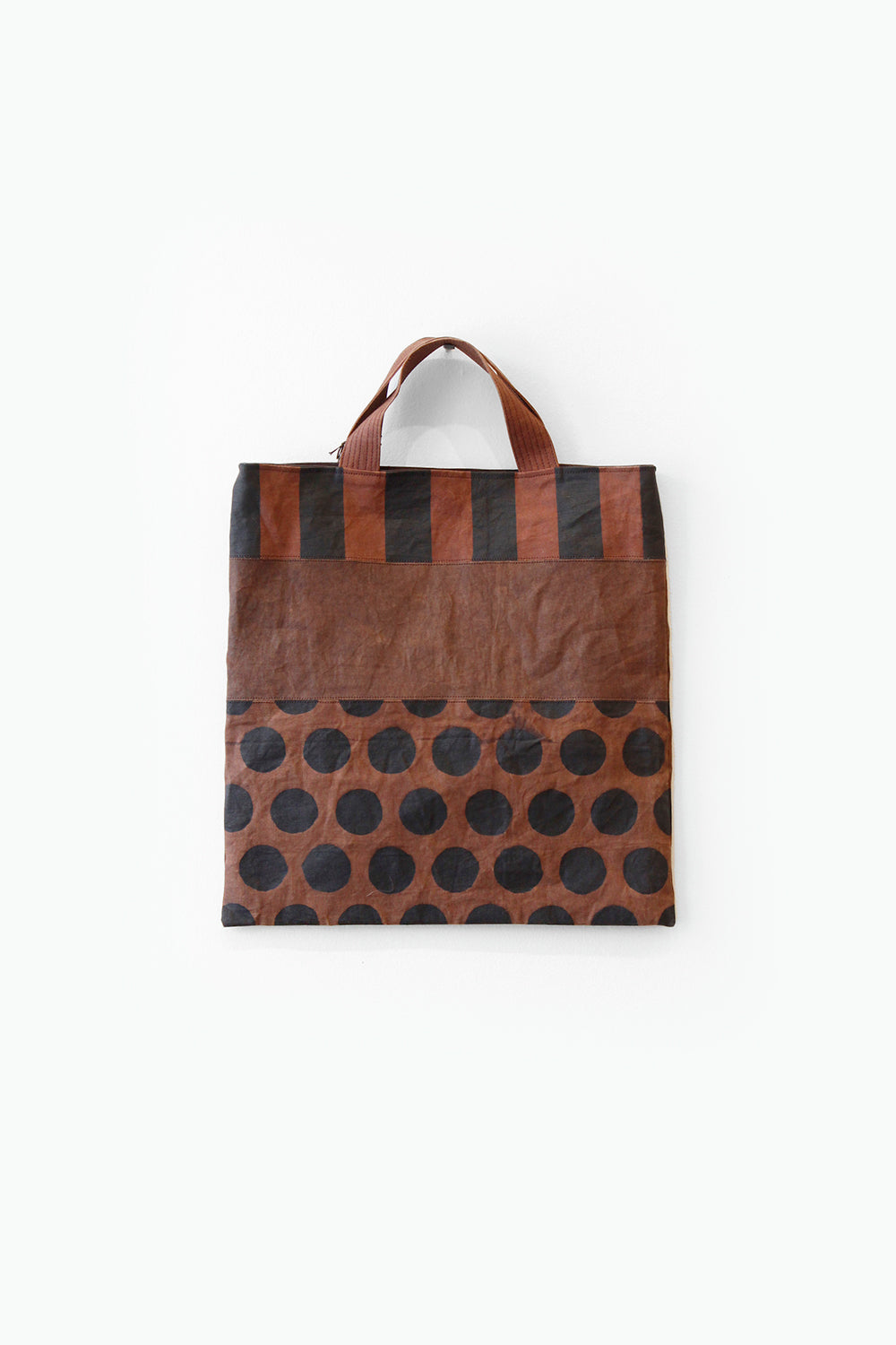 Small Persimmon Dyed Tote Bag