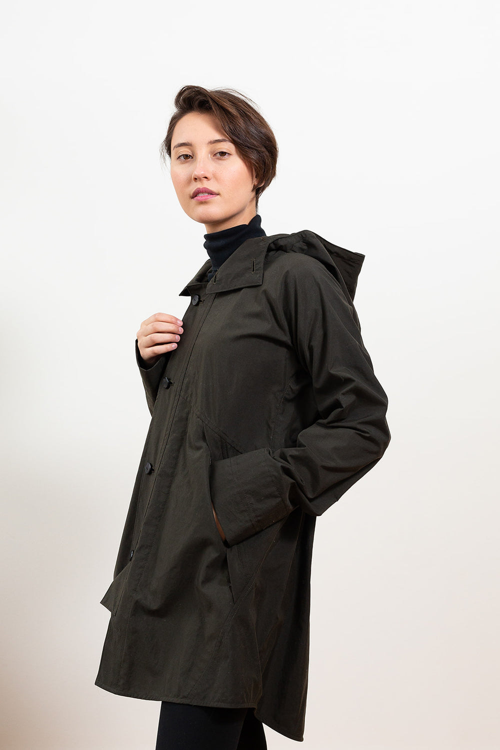 Rain Jacket, Dark Green