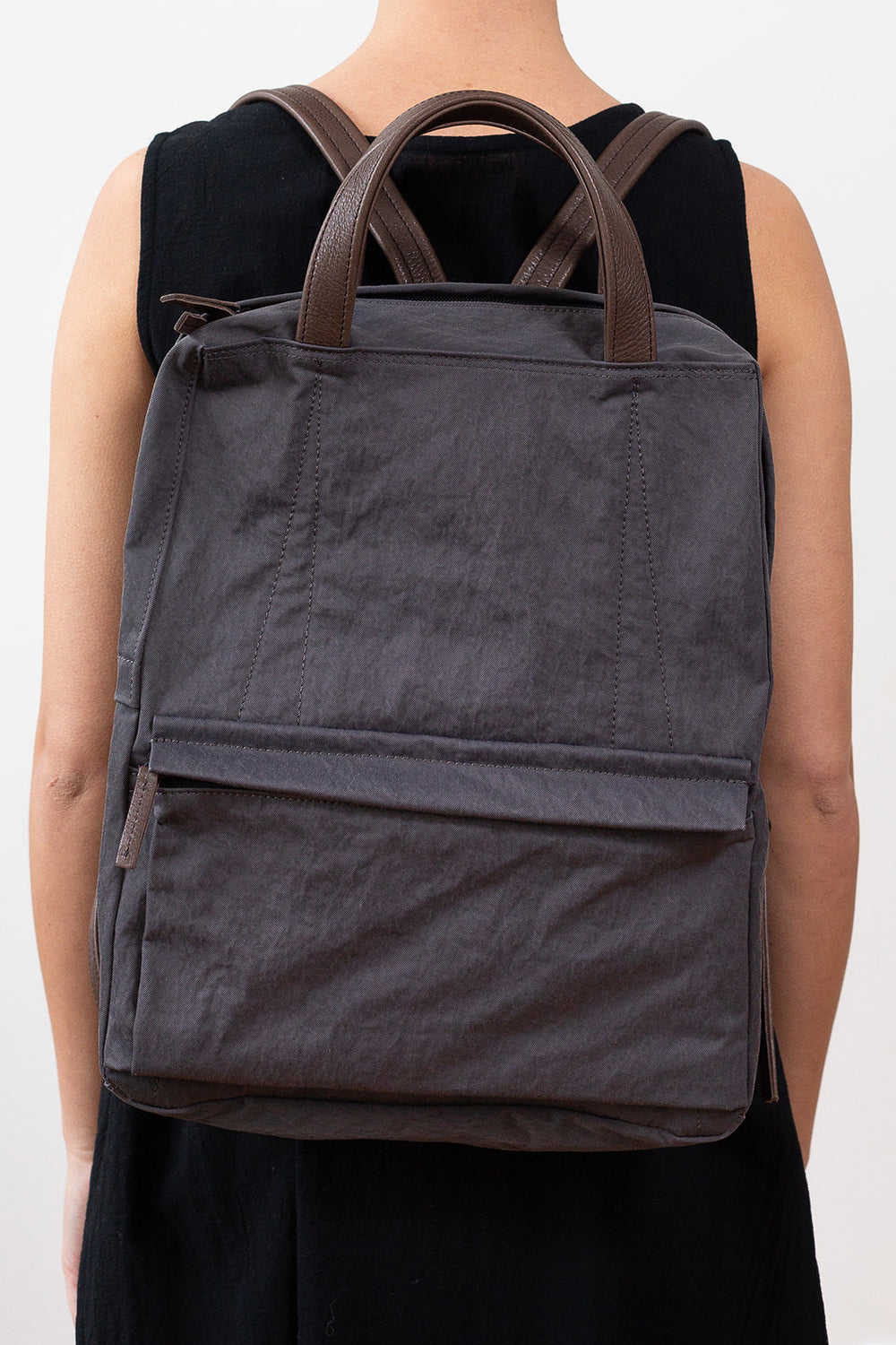 Hammer Nylon Backpack, Smoke Grey