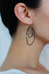 Double Mussels Earrings, Small