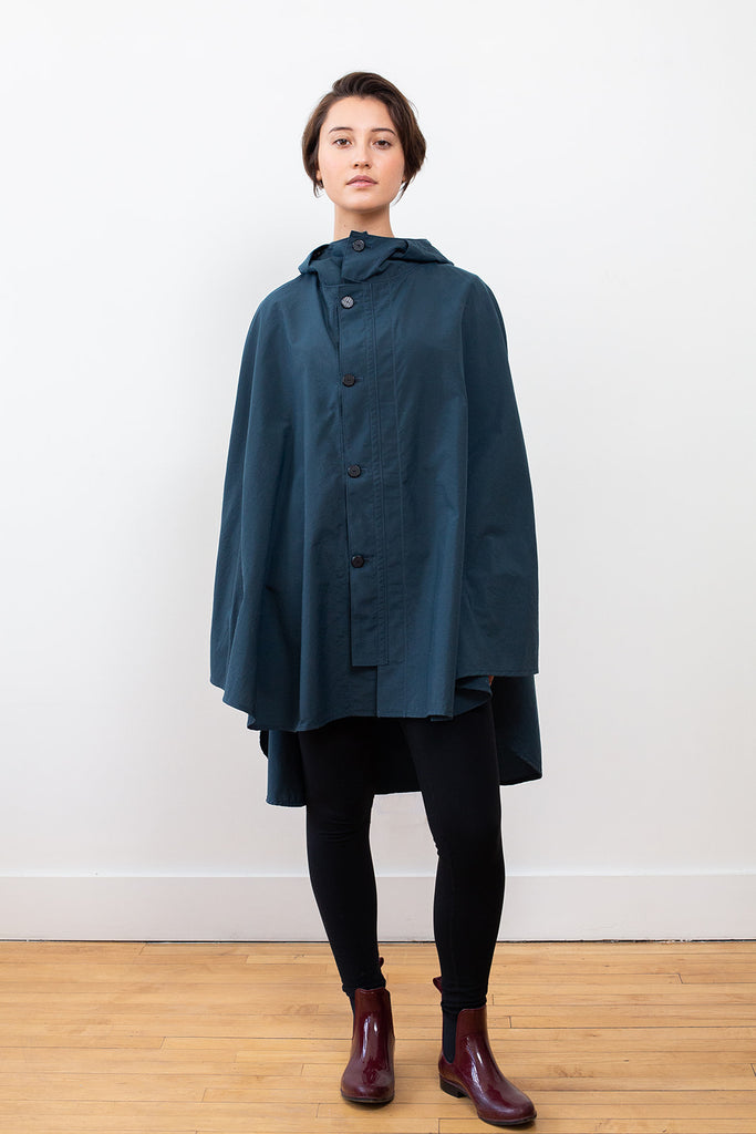 Rain Cape, Dark Blue