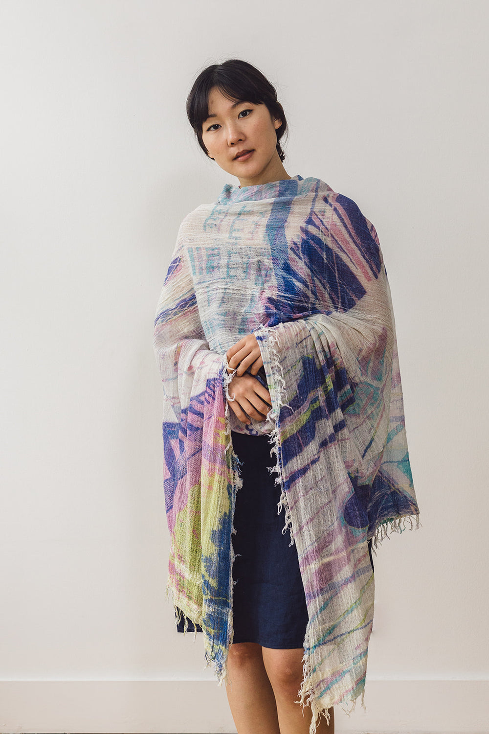 Woven Cotton Print Big Shawl