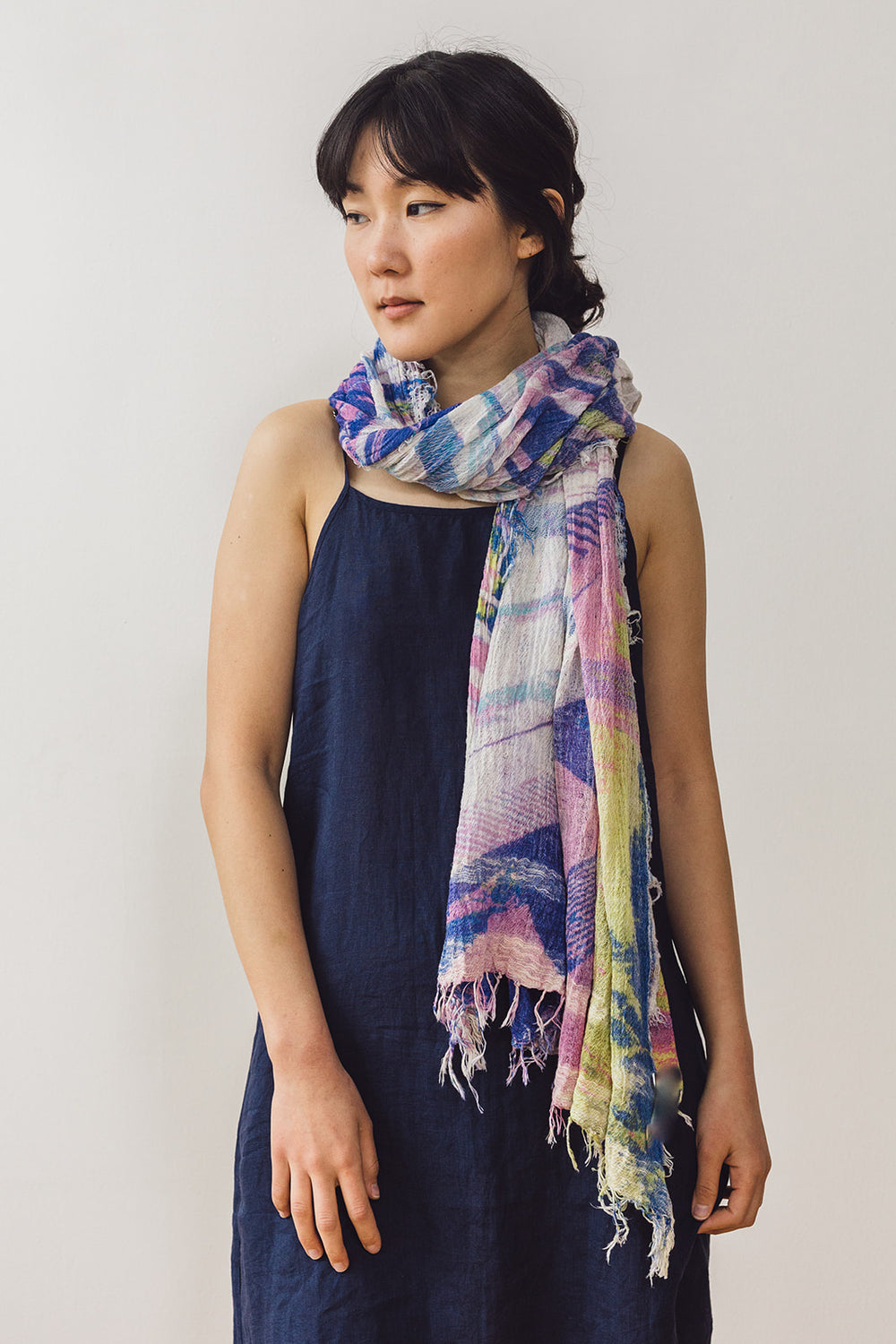 Woven Cotton Big Print Shawl