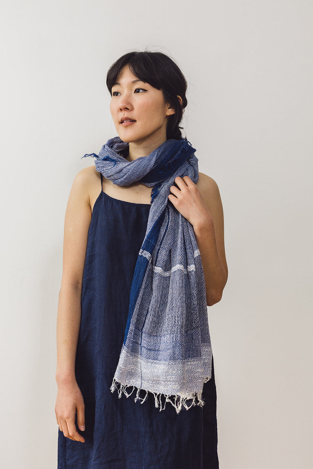 Woven Cotton  Basic Big Shawl