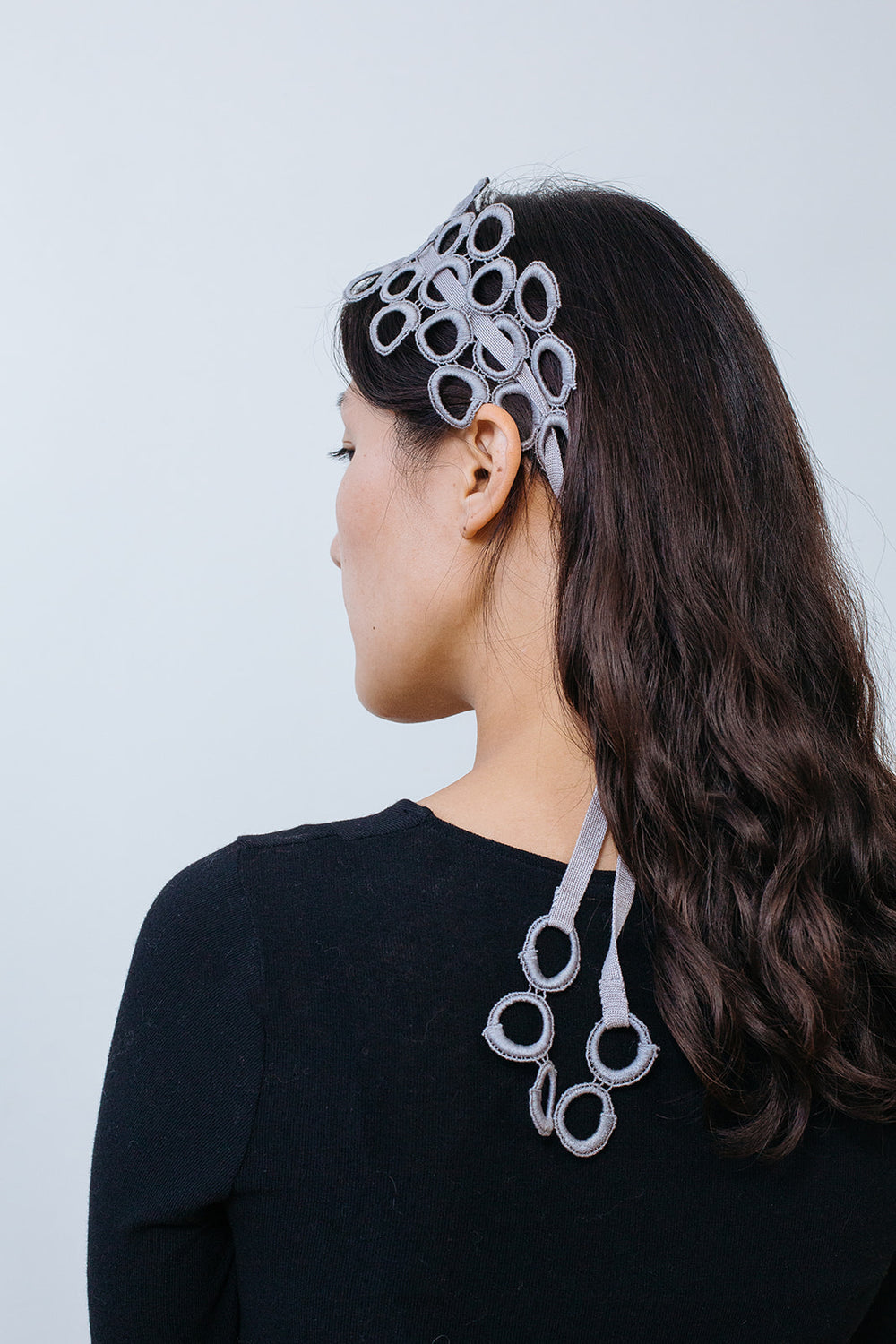 Lace Hairband and Necklace