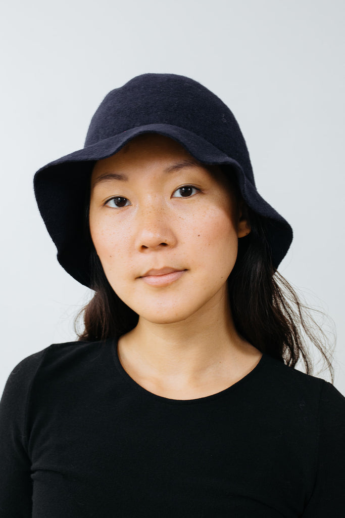 Wool Hat Navy