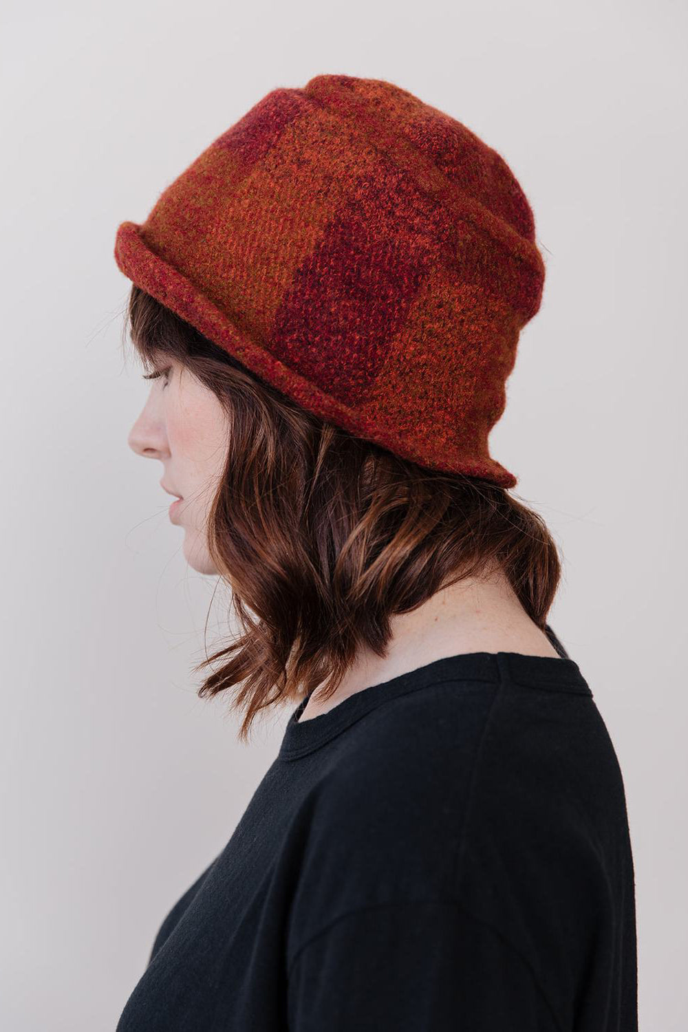 Wool Hat, Orange