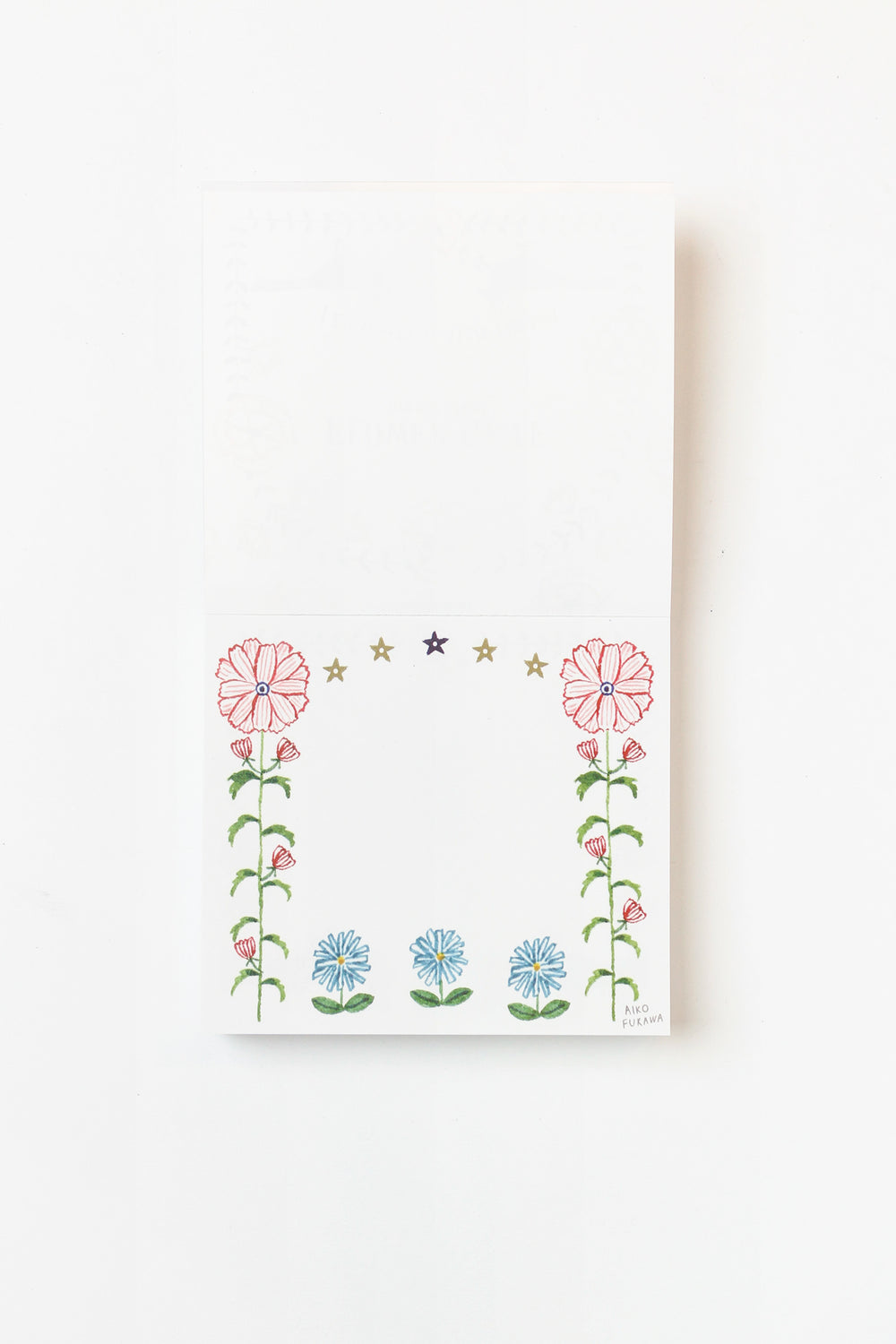 Flower Gate Memo Block