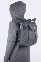 Frances Waxed Cotton Rucksack