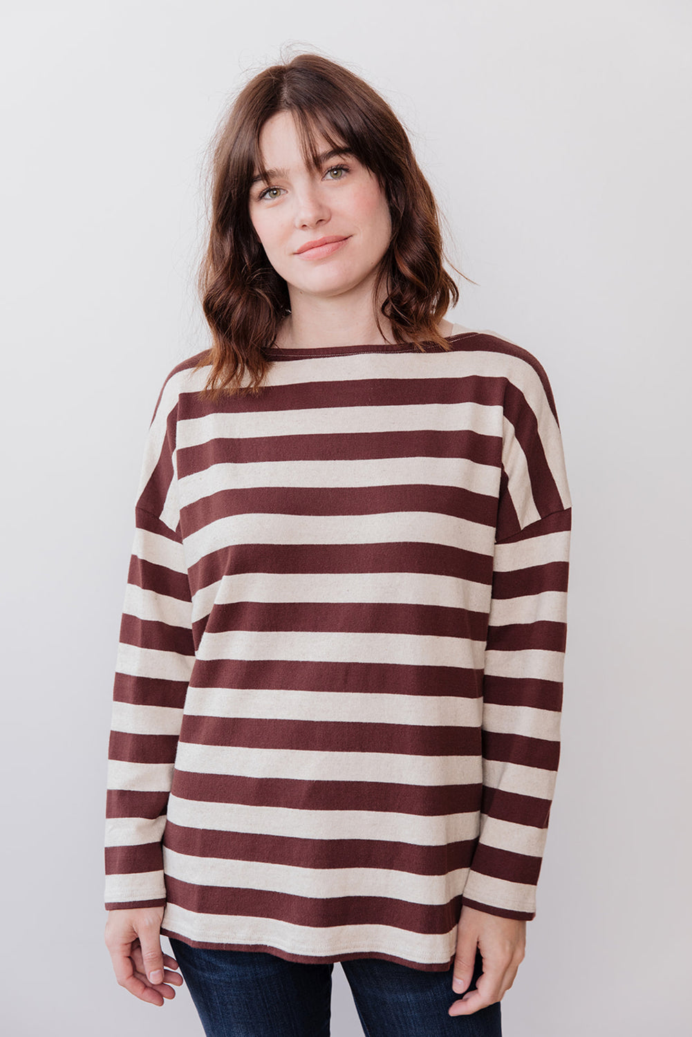 Knit Pullover, Striped