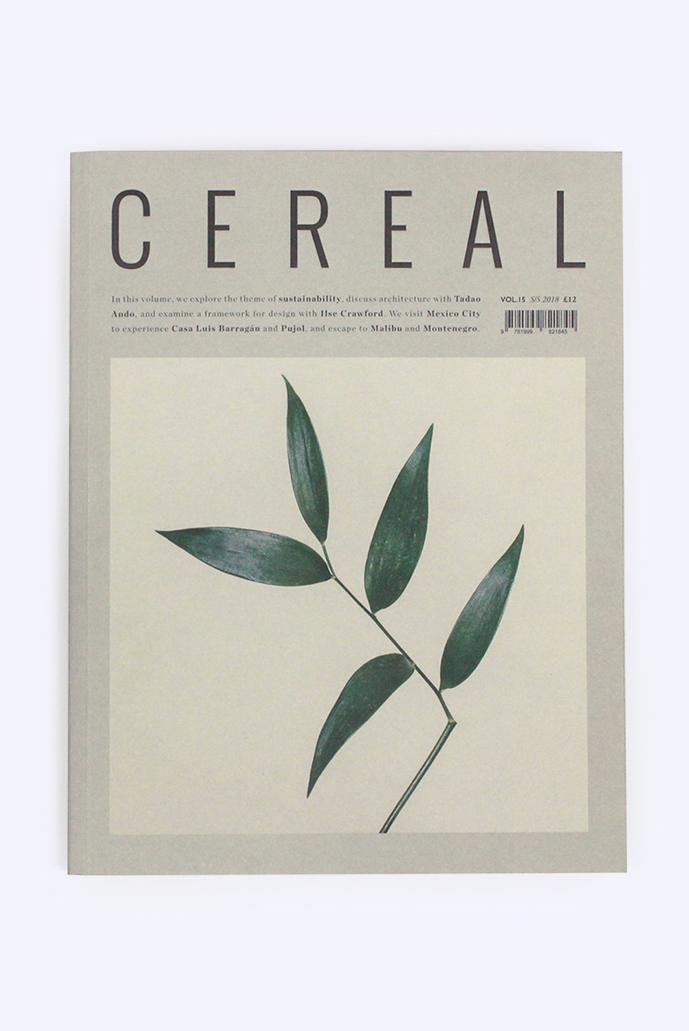 Cereal Magazine Vol. 15, S/S 2018