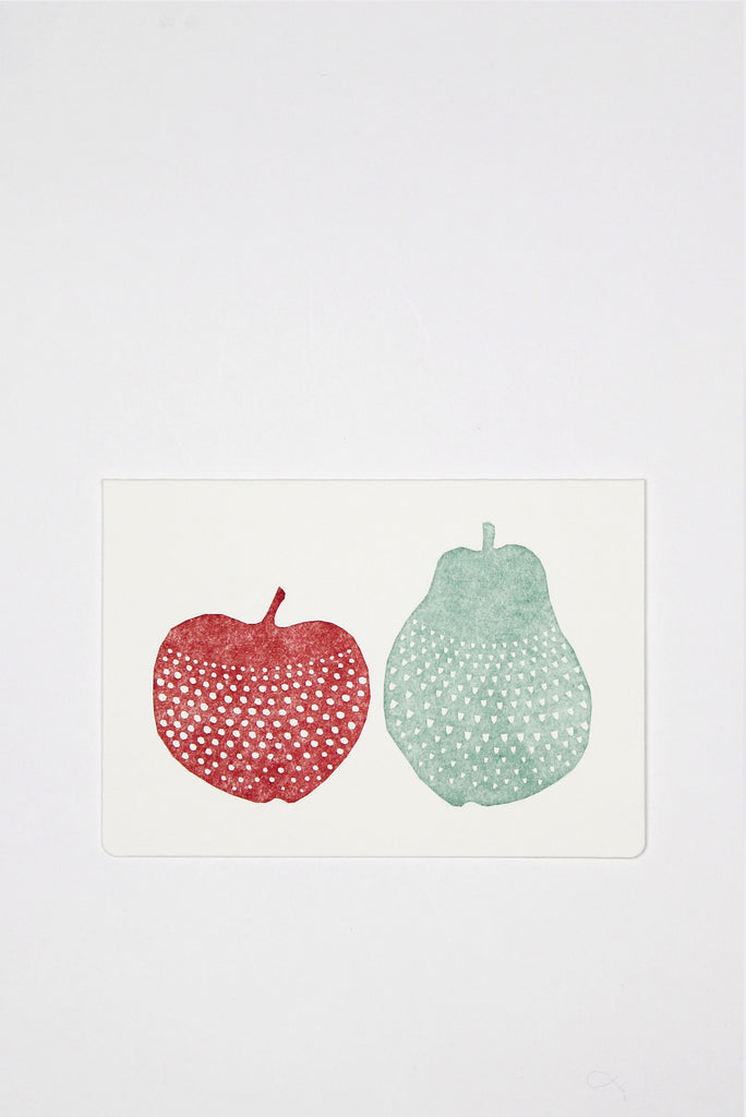 Apple and Pear Card