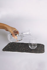 Glass Decanter and Cup