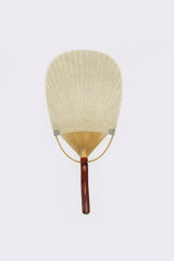 Medium Washi Paper Fan, A