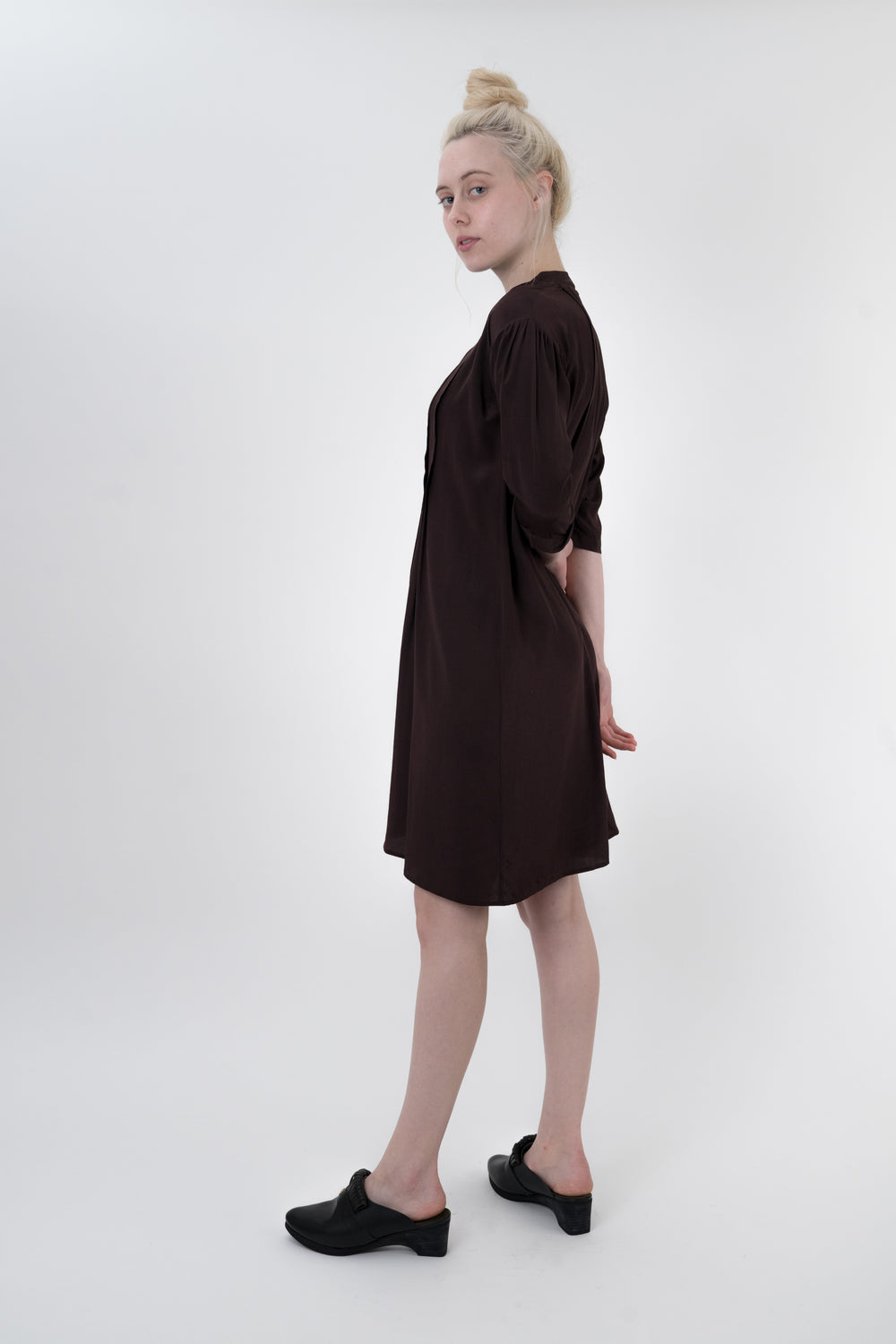 Brown Wink Dress