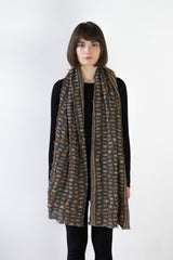 Shards Wool Shawl