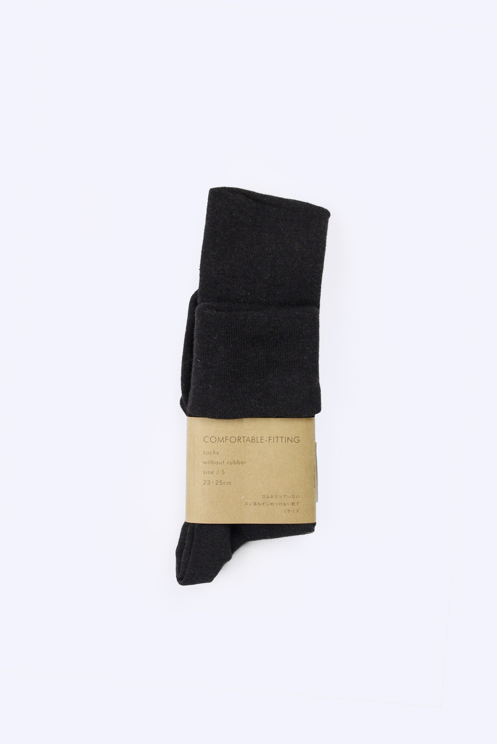 Comfortable-Fitting Socks, Black