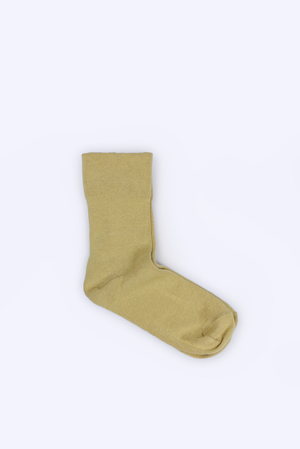Foot Comfort Socks, Yellow with Brown Lining