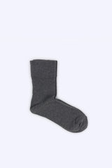 Foot Comfort Socks, Dark Grey