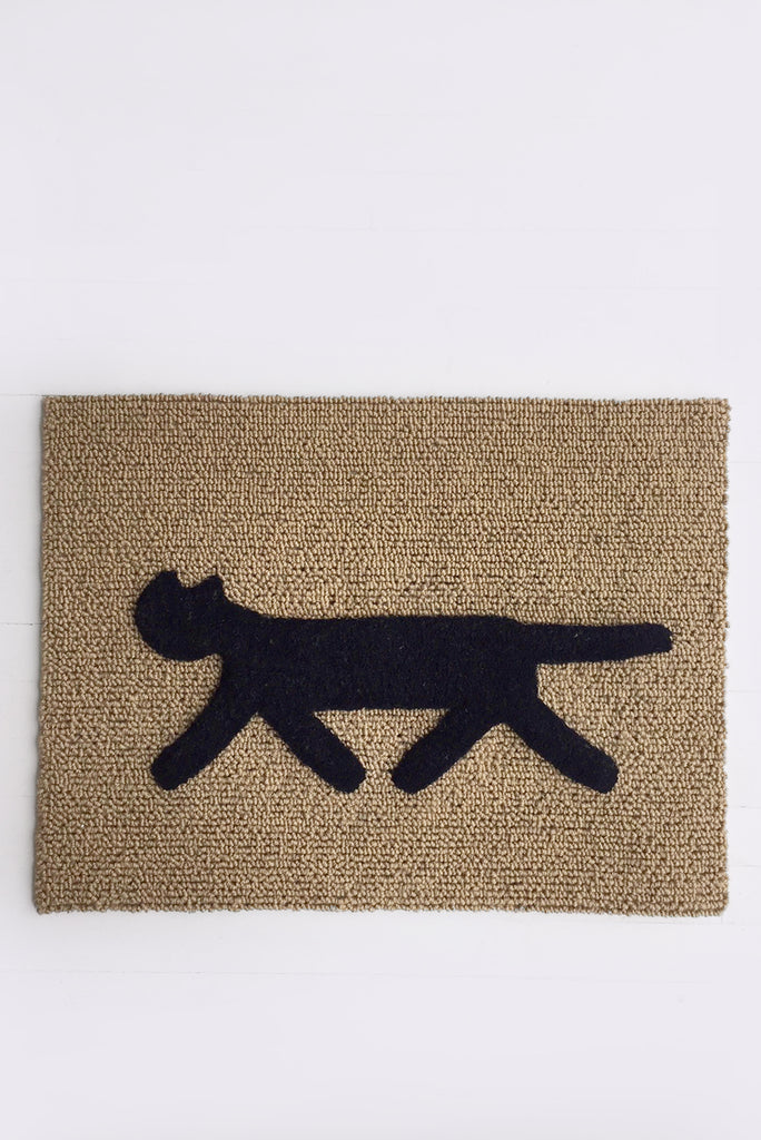 Cat Doormat, Black