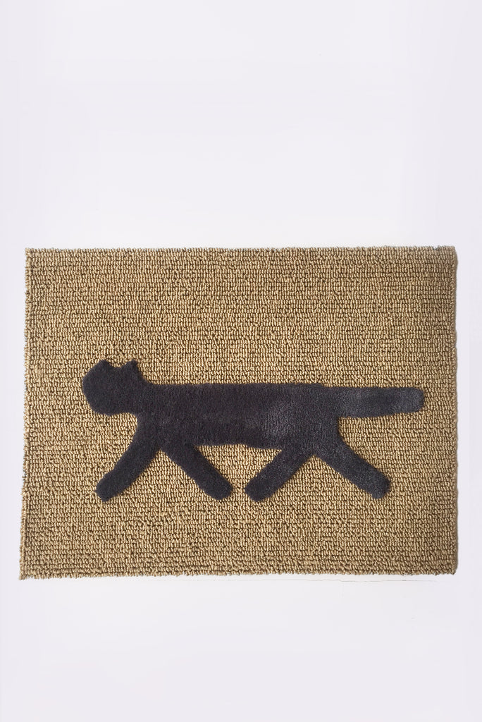 Cat Door Mat, Grey