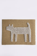 Dog Doormat, Ivory Mix