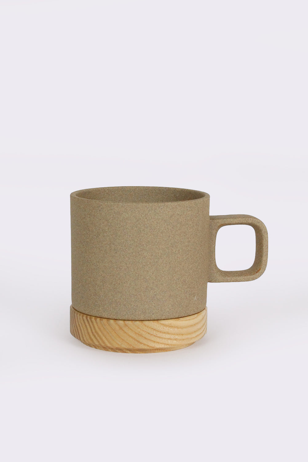Short Porcelain Mug, Natural