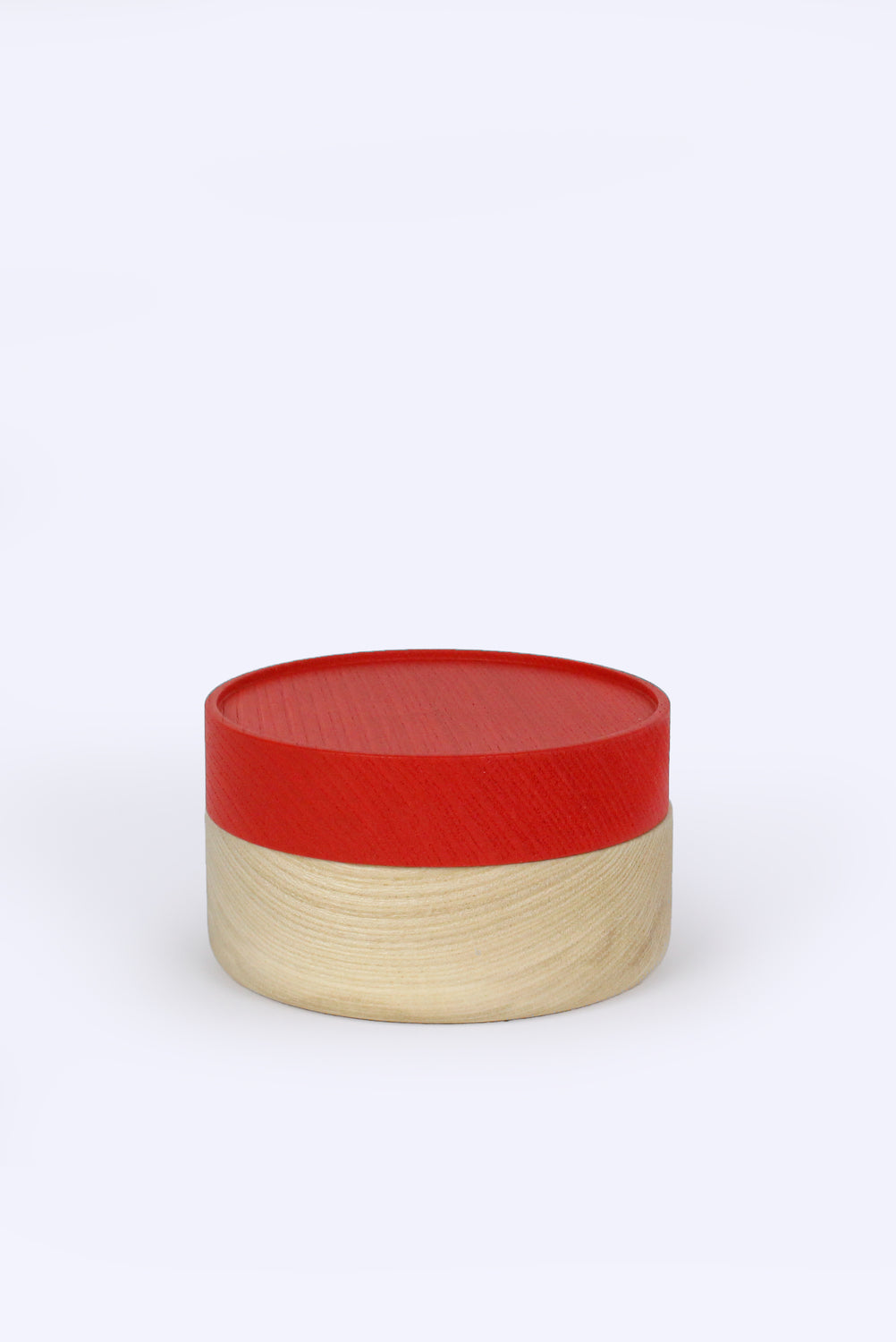 Hako Soji Wide Container, Red