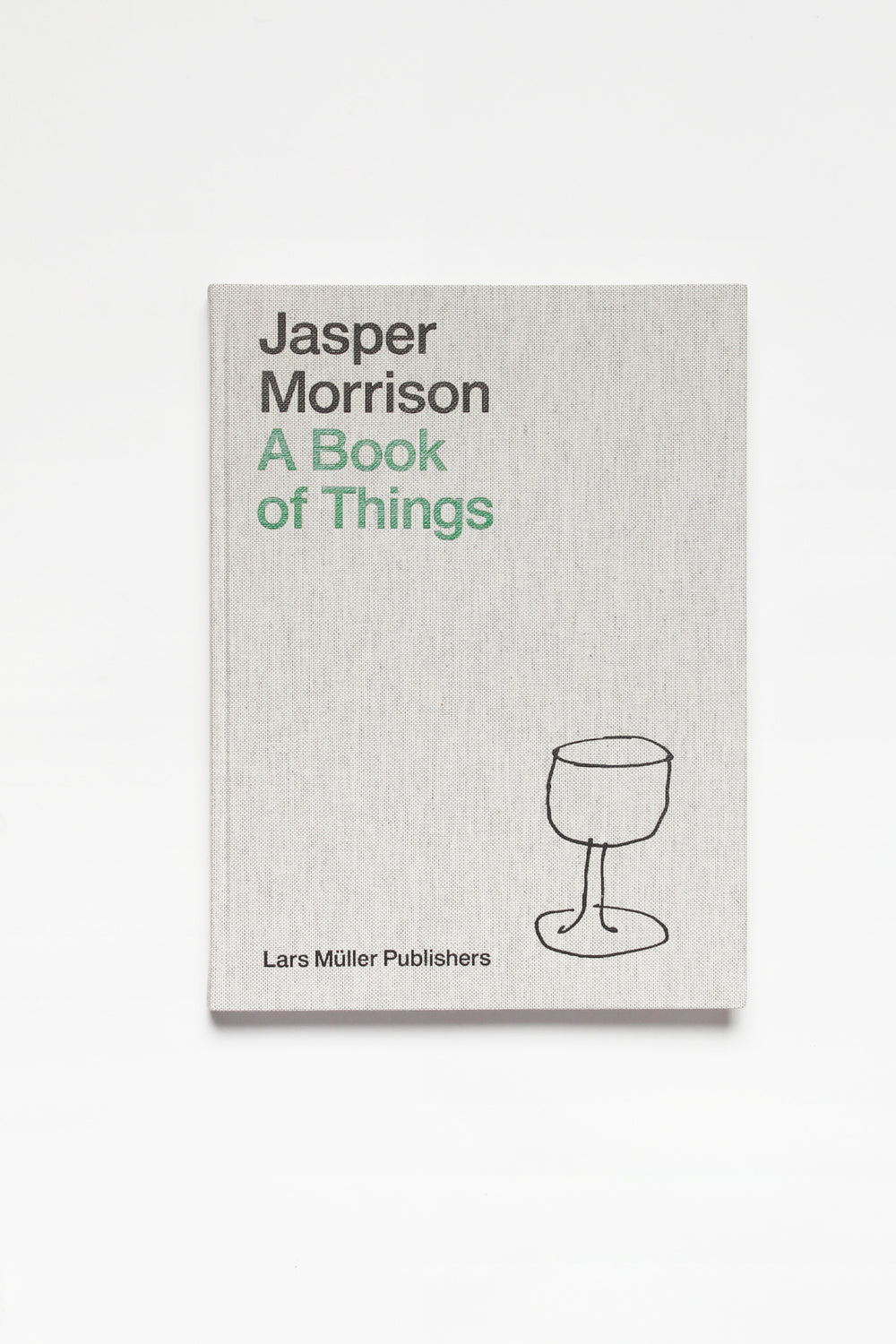 A Book of Things, by Jasper Morrison