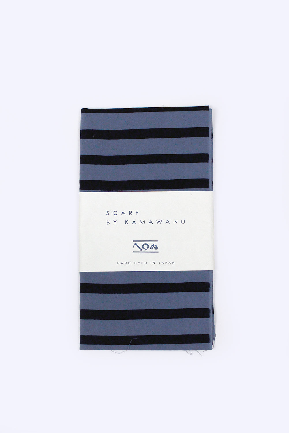 Scarf by Kamawanu (Stripes Blue)