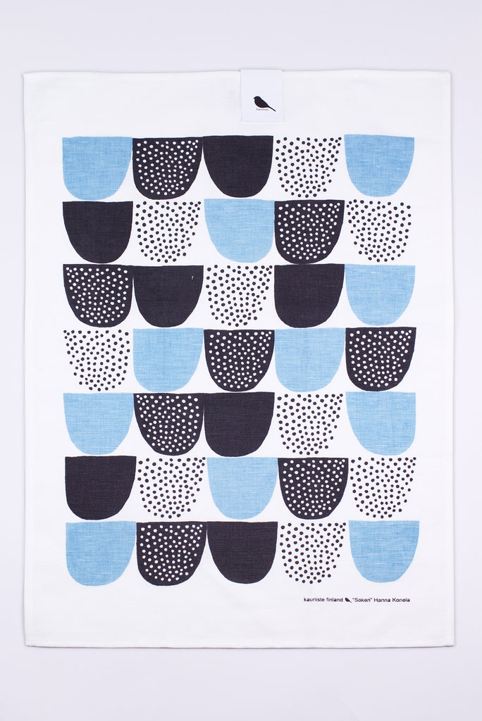 Sokeri Tea Towel, Blue