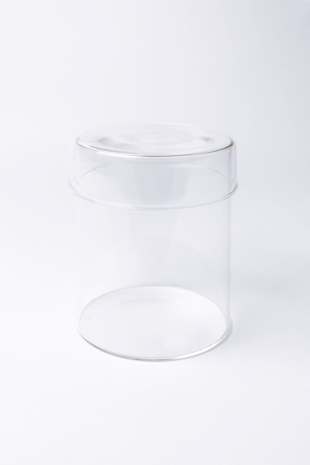 Schale Glass Case with Lid, Large