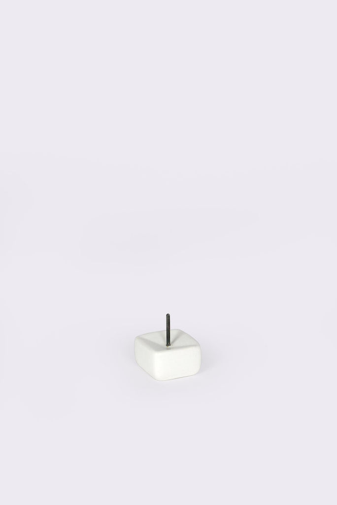 White Candle Stand