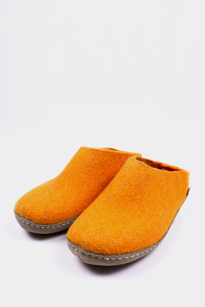 Orange Slippers