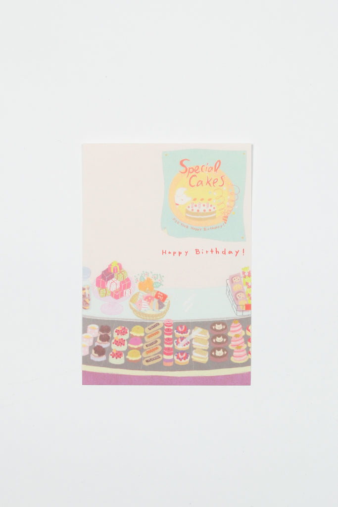 Birthday Card with Cakes