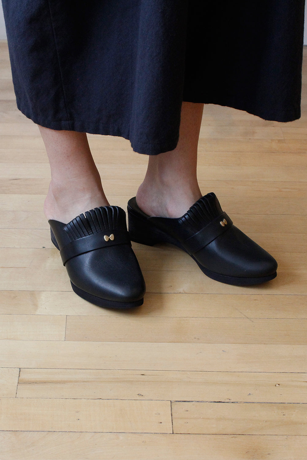 Black Clogs