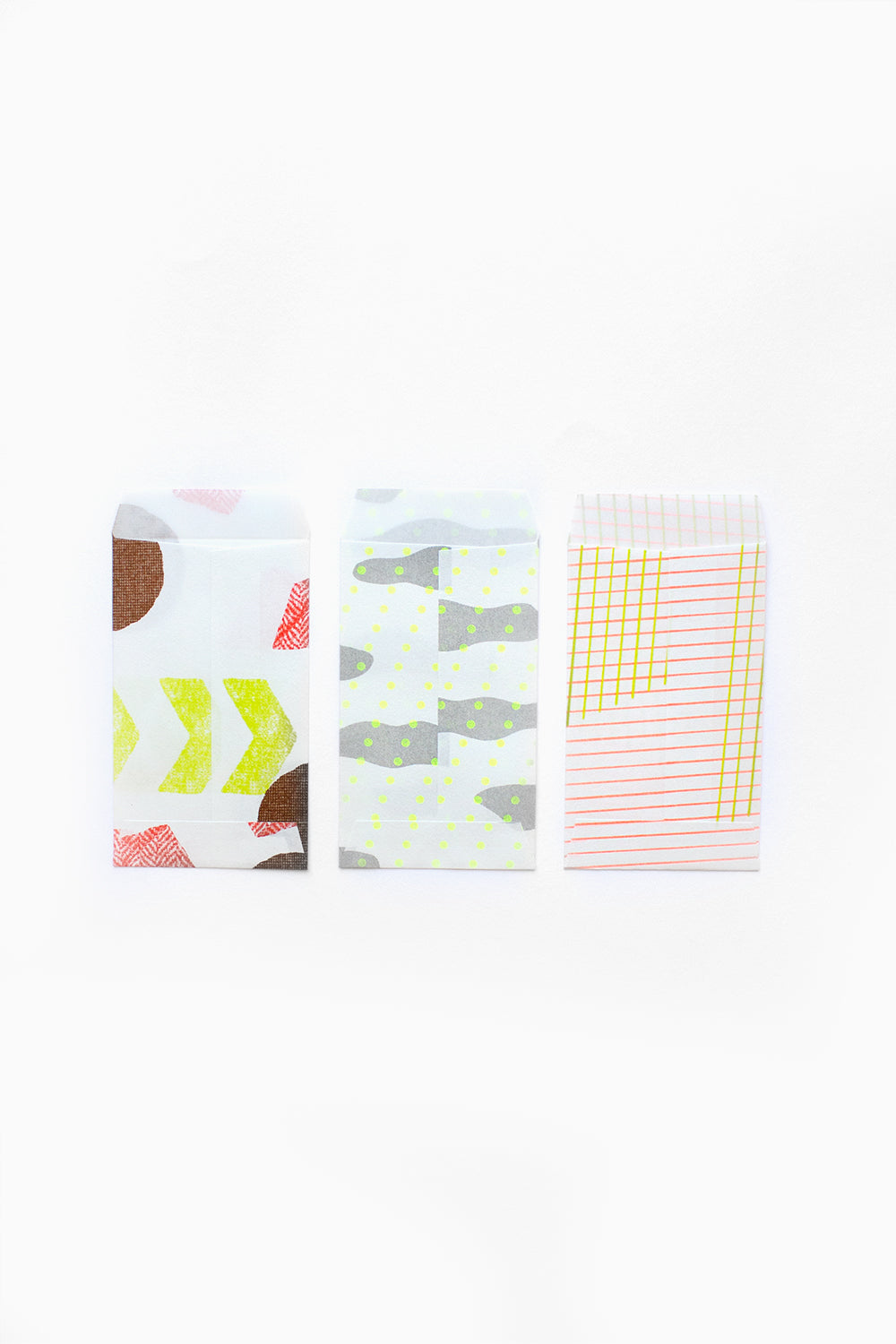 Mini Envelopes Set (White )