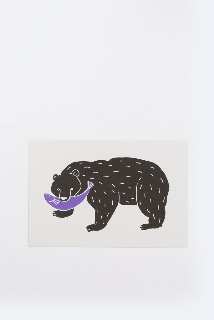Post Card, Bear
