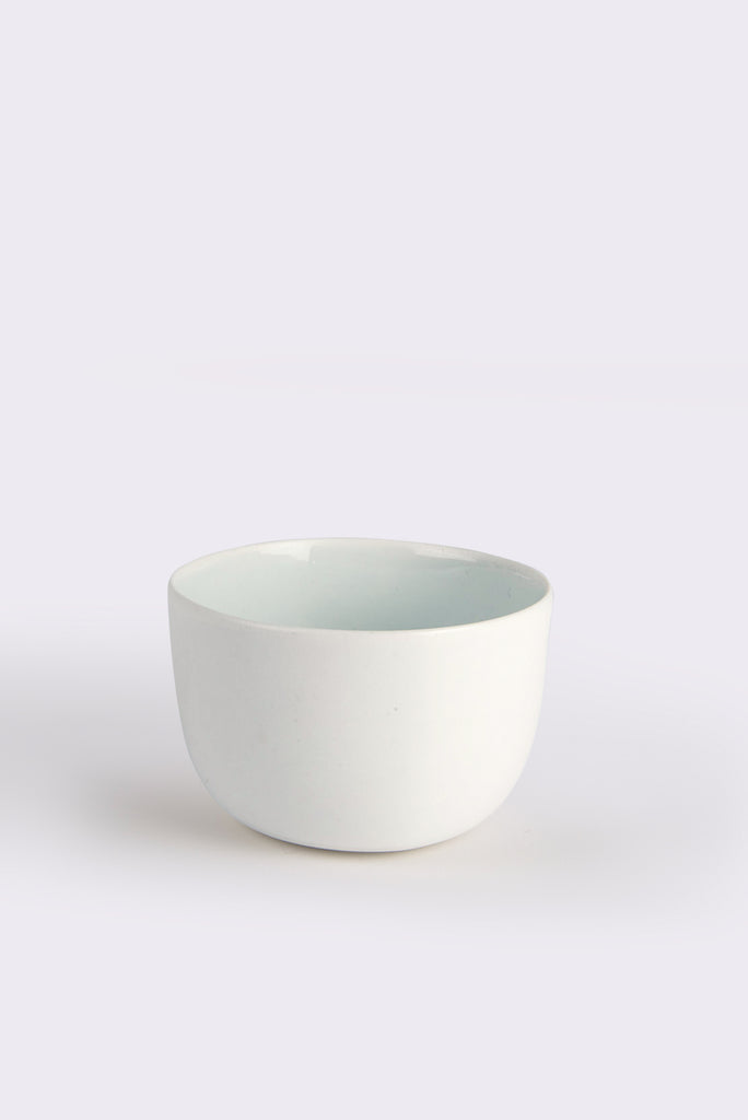 Medium Linum Bowl White
