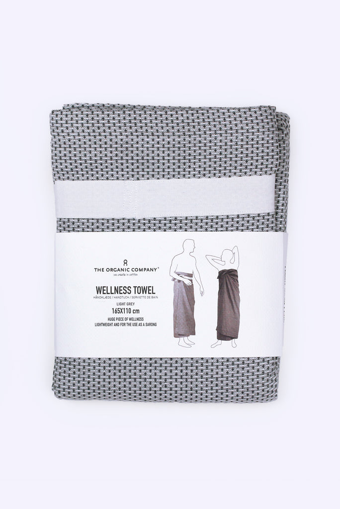 Wellness Towel (Light Grey)