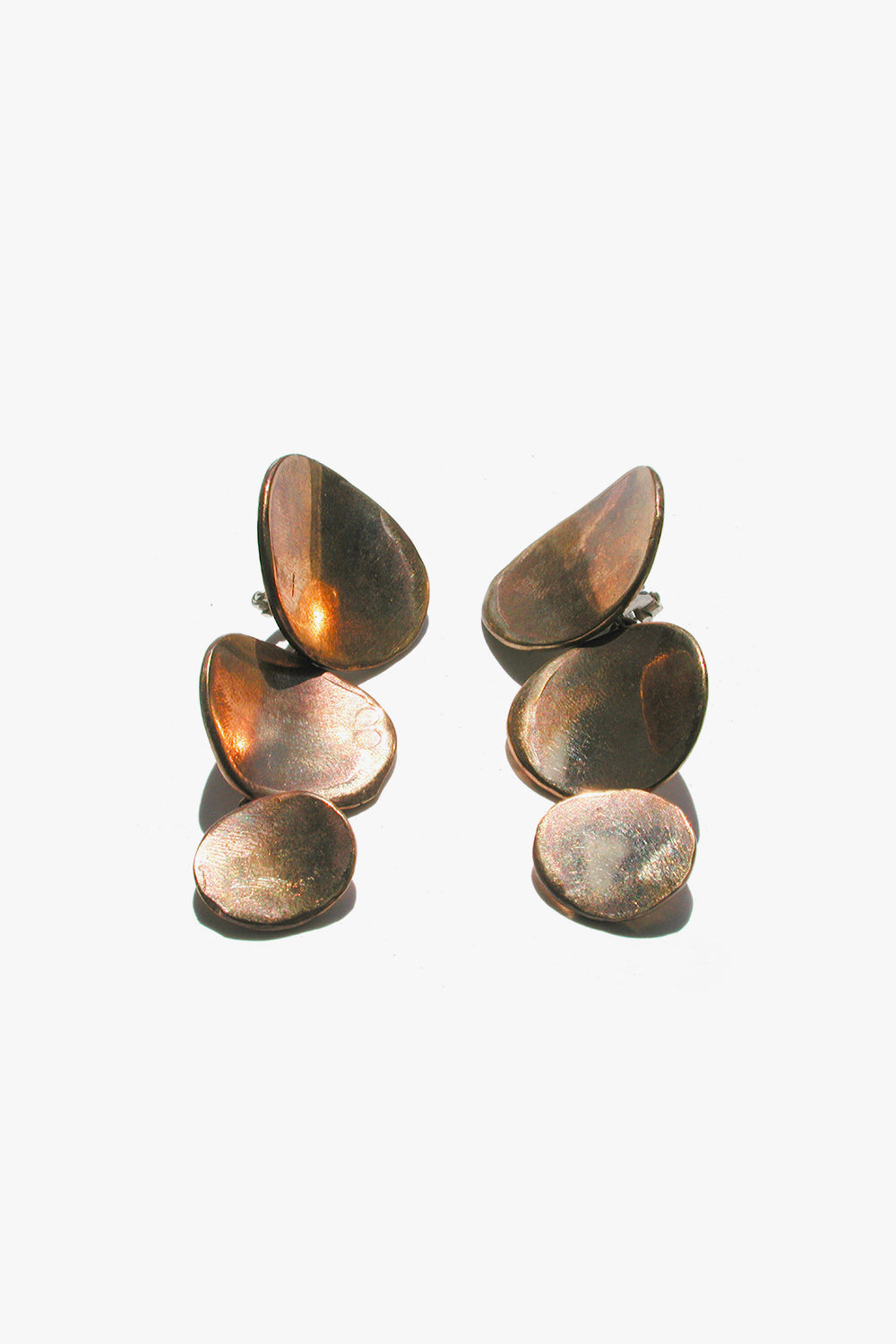 Bronze Ovalini 03 Earrings