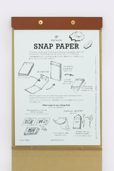 Press Board Snap Pad A4