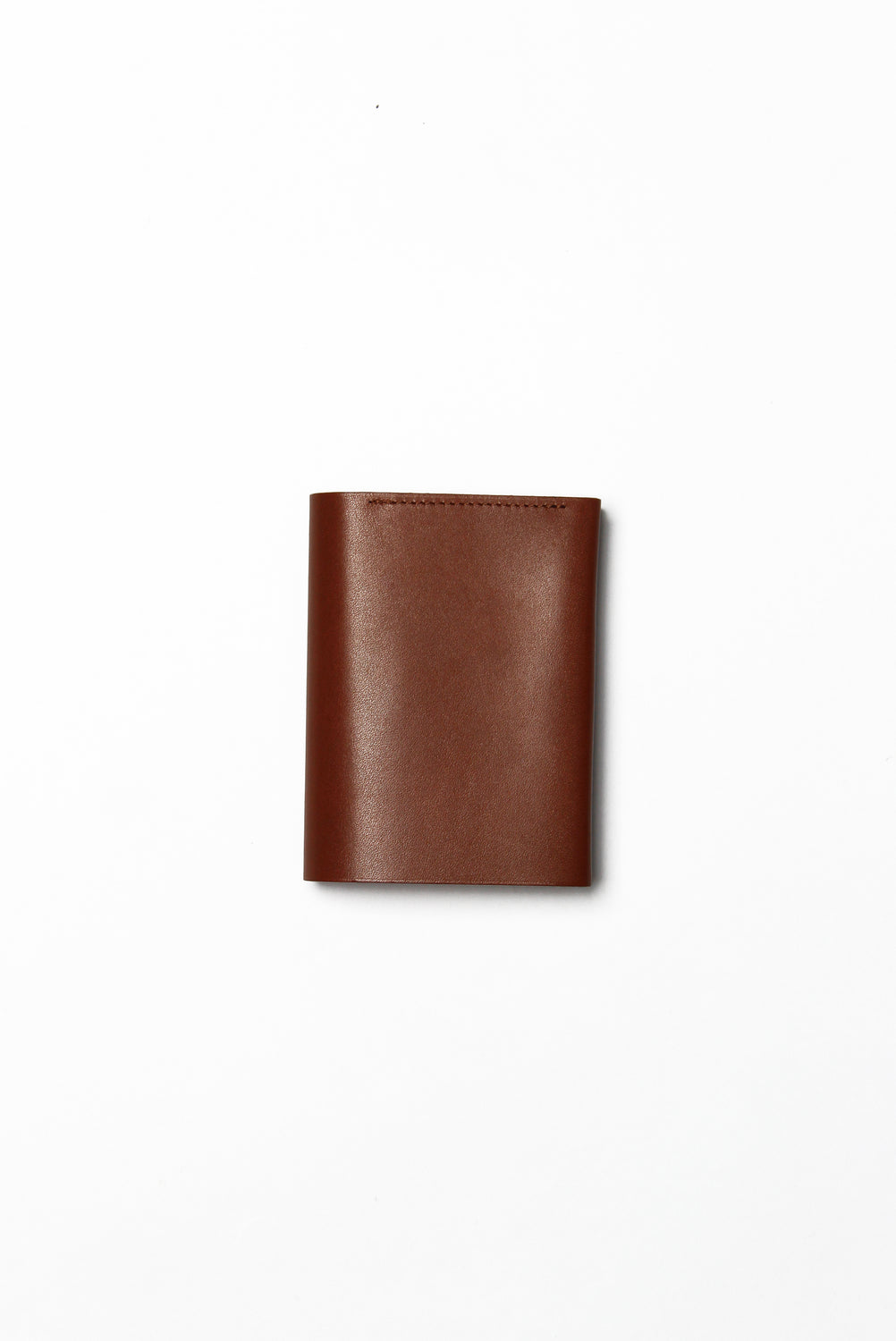 Pressed Cotton Card & Coin Wallet, Brick Red