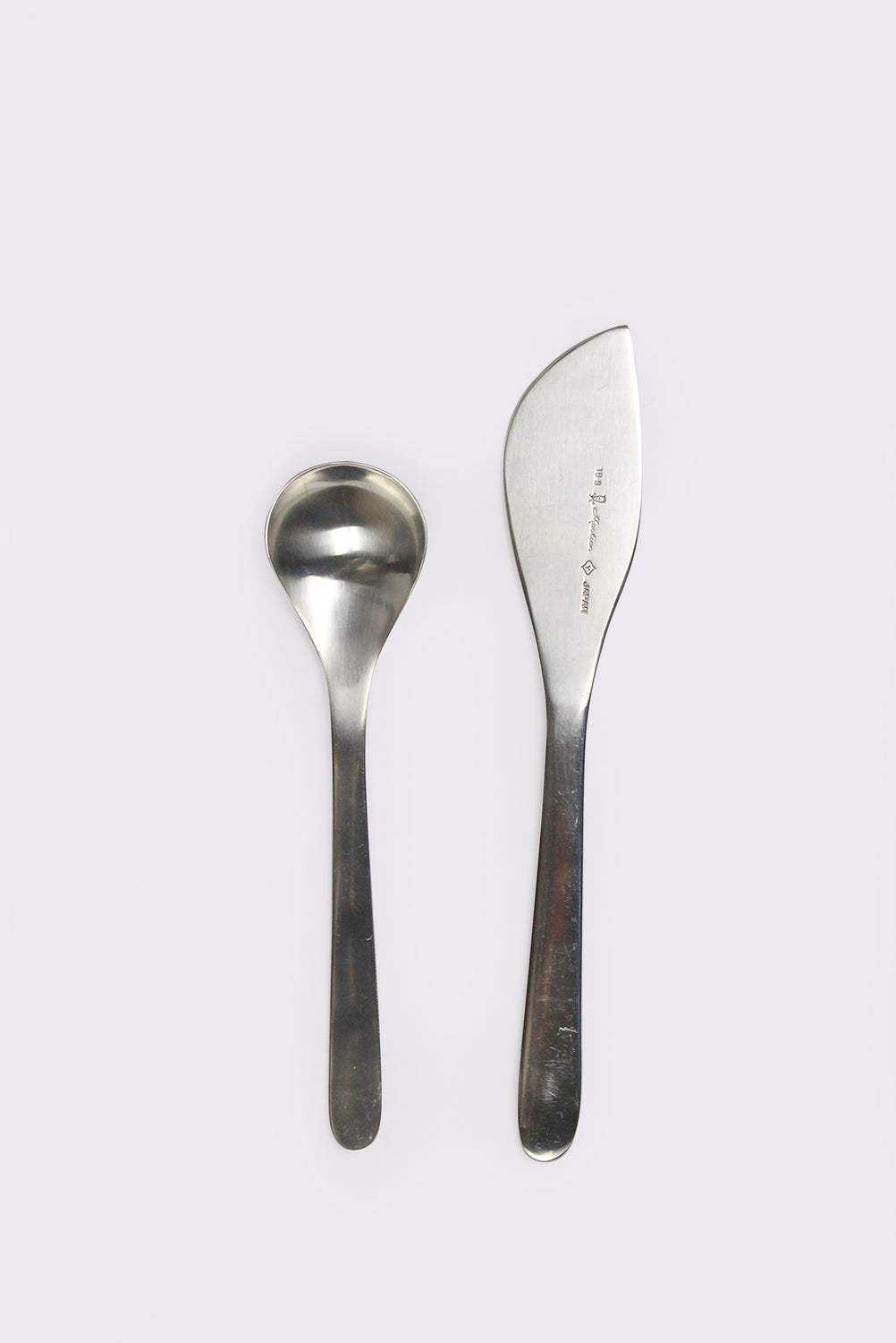 Butter Knife and Tea Spoon