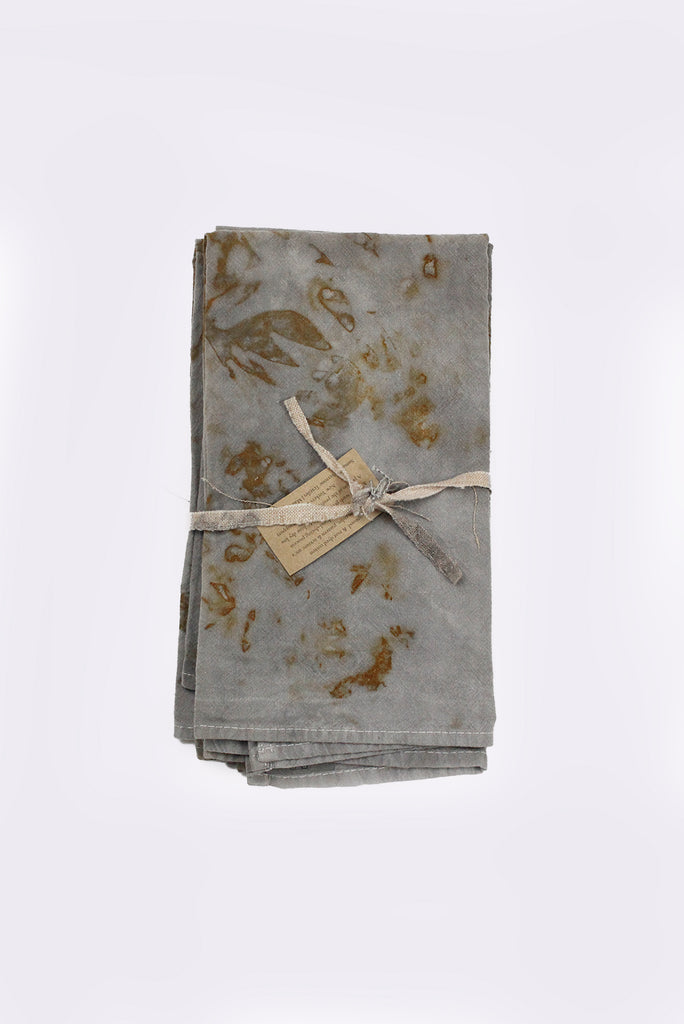 Napkins (Set of 4), Logwood & Rust Dyed Cotton (D4)