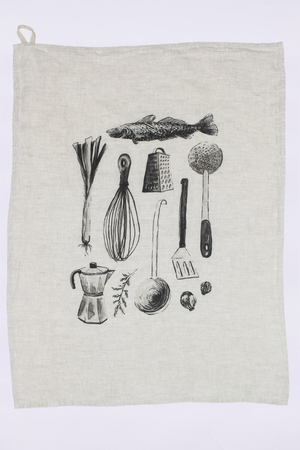 Kitchen Utensils Linen Dish Towel